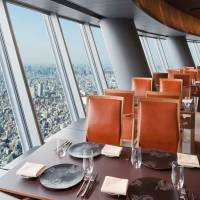 Take a sky-high meal at Tokyo Skytree; savory cold noodles for summer; American grill master visits Marunouchi