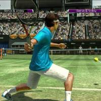 Game-set match: 'Virtua Tennis 4' players experience first- and third-person points of view in a 3-D environment. | DANIEL ROBSON PHOTOS