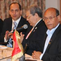 Tunisian leader touts investment opportunities