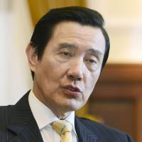 Taiwan leader urges three-way dialogue on Senkaku resources