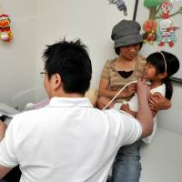 Fukushima kids' thyroids screened