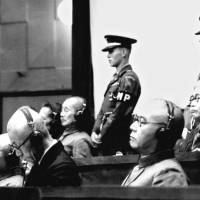 The reckoning: Suspected war criminals are tried in 1948 by the International Military Tribunal for the Far East. | KYODO