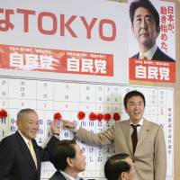 LDP cruises to victory in Tokyo assembly election