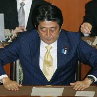 Abe closes out uneventful legislative session unscathed