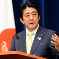 Abe hopeful ruling bloc juggernaut cleans up in Upper House poll in July
