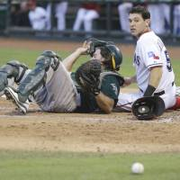 Darvish's winless run hits six after loss to A's