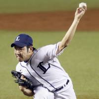 Dominant force: Seibu Lions southpaw Yusei Kikuchi is 7-2 with a 1.41 ERA this season. Opponents are batting .179 against him. | KYODO