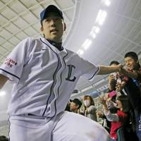 It's my time: Seibu's Yusei Kikuchi is 8-2 with a 1.30 ERA in 12 starts this season. | KYODO