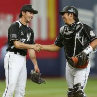 Marines Furuya misses no-hitter with two outs in ninth