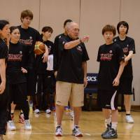 Brown imparting wisdom to Japan squad