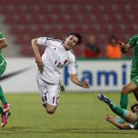 Okazaki strikes late to wrap up qualifiers with victory over Iraq