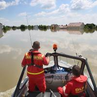 Europe floods raise warming fears