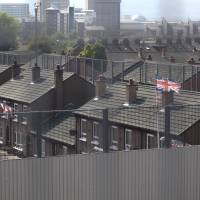 Belfast walls keep peace in a city riven by sectarianism