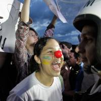 Brazil protesters take to the streets