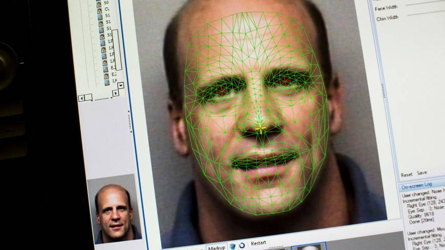 Facing up: The facial-mapping program used by the Pinellas County Sheriff's Office in Clearwater, Florida, is one of the most advanced facial-recognition programs available to law enforcement in the United States.