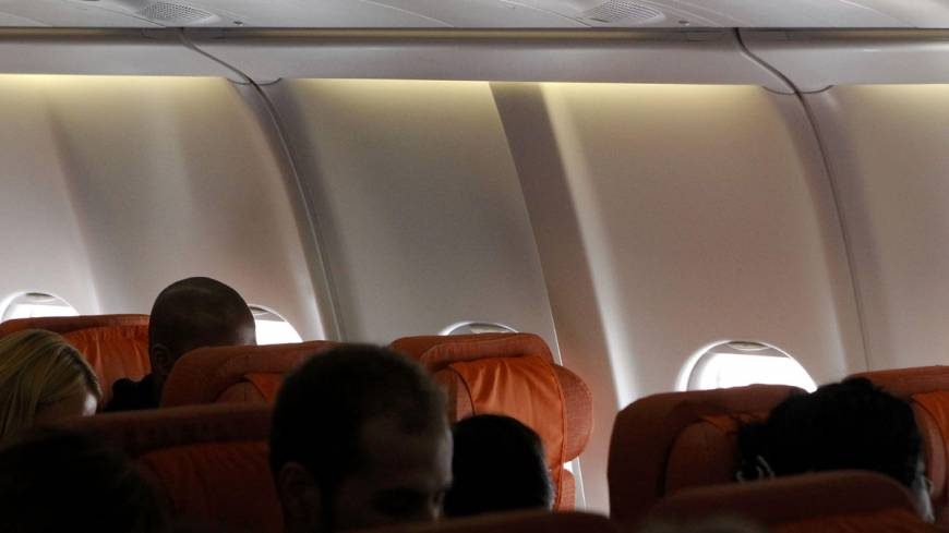 Gone to ground?: A seat believed reserved by fugitive U.S. spy Edward Snowden remains empty Monday on Cuba-bound jetliner at an airport in Moscow.