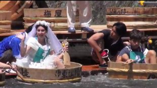[VIDEO] 58th Matsukawa Washtub Boat Race
