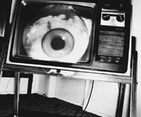 Eye on Ebisu: Bruce Conner's 'THE LATE NIGHT MOVIE ON TV: JUNE 10 1978@1:20 TO 1:27 AM: STERNS MOTEL IN VENICE, CA #4' | MICHAEL KOHN GALLERY/MIYAKE FINE ART