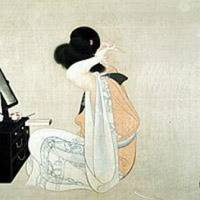 A real nihonga beauty: Bakusen Tsuchida's 'Woman Dressing Her Hair' (1911) | COURTESY OF THE KYOTO MUNICIPAL MUSEUM OF ART