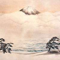 Taikan Yokoyama's 'Spirit of Japan (Mount Fuji)' (1940) | THE MUSEUM OF MODERN ART, KAMAKURA & HAYAMA