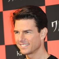 Nazi hater: Tom Cruise in Tokyo