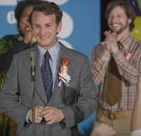Lotta bottle: Sean Penn won this year's Best Actor Oscar for his portrayal of Harvey Milk in the film 'Milk.' | © 2008 FOCUS FEATURES LLC. ALL RIGHTS RESERVED