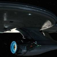 New frontiers: The USS Enterprise in 'Star Trek,' J.J. Abrams' reboot of the sci-fi classic.