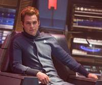 Raw recruit: Chris Pine as Captain Kirk in the new 'Star Trek'
