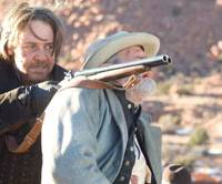 Bang, bang: Russell Crowe takes aim in '3:10 to Yuma.' | © 2007 YUMA, INC. ALL RIGHTS RESERVED