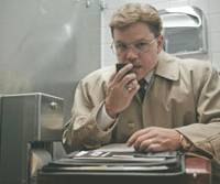 This seriously not charming man!: Matt Damon smiles in 'The Informant!' | © 2008 WARNER BROS. ENTERTAINMENT INC.