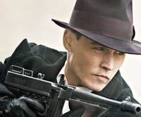 Black hat: Johnny Depp in 'Public Enemies.' | © 2009 UNIVERSAL STUDIOS. ALL RIGHTS RESERVED