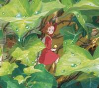 Size isn't everything: Standing 10 cm tall, Arrietty makes up for her height with a strong sense of adventure. | © 2010 GNDHDDTW