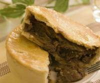A classic steak and onion pie, made by Kyoto-based Jerry's Pies