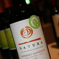 Emiliana Natura Cabernet Sauvignon 2008: Peppery and brambley on the nose with hints of dark fruit, this Cabernet would pair well with a fresh game. | FELICITY HUGHES PHOTOS