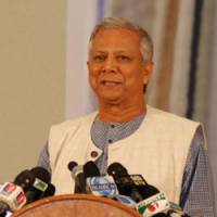 Muhammad Yunus, Bangladesh's 2006 Nobel Peace Prize laureate, who is on AUW's advisory board. | AUW SUPPORT FOUNDATION