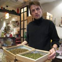 Frenchman's flavorful twist on green tea has good of farmers at heart