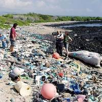 Oceans awash in toxic seas of plastic