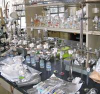 Ground zero: The university lab in Tokyo where Hideshige Takada tests the interactions between plastic garbage and dangerous chemicals in the ocean. | WINIFRED BIRD