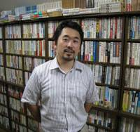 Man with a mission: For 10 years, Sinitirou Kumagai, 32, has been recording the testimonies of former Japanese soldiers who served in China. | EDAN CORKILL