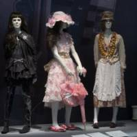 Triple whammy: Examples (left to right) of Gothic, Lolita and 'forest girl' Japanese styles on show in the Big Apple. | COURTESY OF THE MUSEUM OF THE FASHION INSTITUTE OF TECHNOLOGY, NEW YORK