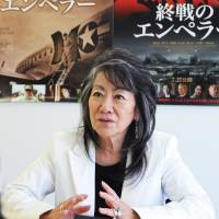 Roles call: Whether as a casting director or producer, Yoko Narahashi — seen during her recent JT interview — has been closely involved in some of Hollywood's best-known portrayals of Japan. | SATOKO KAWASAKI