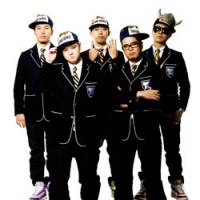 Saucy: Hip-hop supergroup Teriyaki Boyz (left to right: Ilmari, Wise, Nigo, Ryo-Z, Verbal)