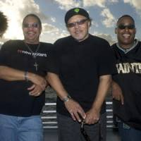 Measured: The Funky Meters (left to right: Ian Neville, George Porter Jr., Art Neville, Russell Batiste) are the latest incarnation of legendary New Orleans band The Meters.