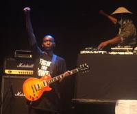 Bad: Public Enemy's Fuji Rock performance was disappointing. | ROB SCHWARTZ