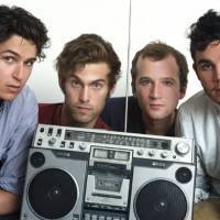 Hold the garlic: Vampire Weekend (Chris Baio third from left) have been one of 2010's most talked-about bands. Baio will celebrate his 26th birthday with a show in Tokyo on Oct. 29 before dates in Osaka and Nagoya. | ALEX BECK