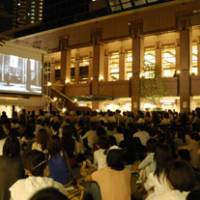 Enjoy watching free movies under the stars
