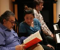 Musical instruction: Leon Fleisher teaches at Carnegie Hall in New York. | CHRIS LEE