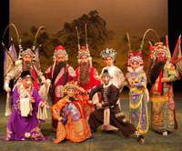 Colorful cast: The China National Peking Opera Company will perform 'The Water Margin — The Vows of Song Jiang and the Heroes of Mount Liang Shan Po,' which is considered one of China's four all-time classic novels.