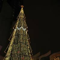 O Tannenbaum: The German Christmas Market in Osaka will feature a 27-meter-tall Christmas tree. | SEKISUI HOUSE UMEDA OPERATION