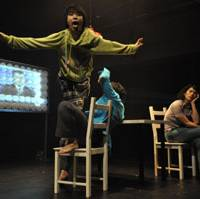 Troupe turns words into action